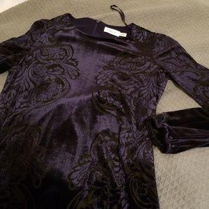 Eliza Jane dark navy dress